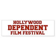 DEPENDENT FILM FESTIVAL bumper sticker