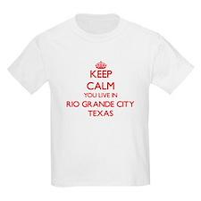 Keep calm you live in Rio Grande City Texa T-Shirt