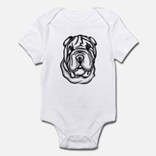 Toy Chinese Shar Pei Infant Bodysuit