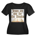 Jews are one for the Books Women's Plus Size Scoop