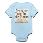 Jews are one for the Books Infant Bodysuit