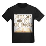 Jews are one for the Books Kids Dark T-Shirt