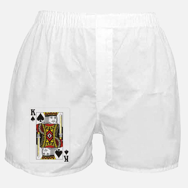 King of Spades Boxer Shorts