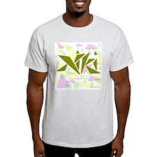 Niki Green Triangles T-Shirt