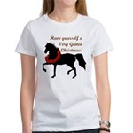 Very Gaited Christmas! Women's T-Shirt