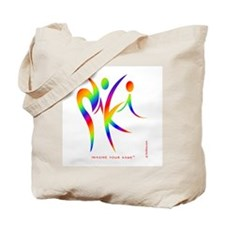 Niki Rainbow Design 1 Tote Bag