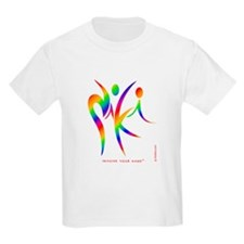 Niki Rainbow Design 1 T-Shirt
