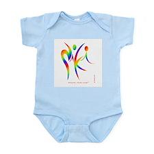 Niki Rainbow Design 1 Infant Bodysuit