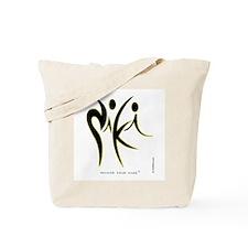 Niki Black design 1 Tote Bag