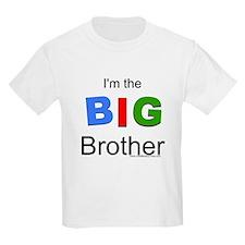 I'm the big brother BIG Kids Light T-Shirt