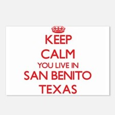Keep calm you live in San Postcards (Package of 8)