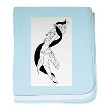 Rohesia Dancer baby blanket