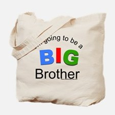 I'm going to be a big brother Tote Bag