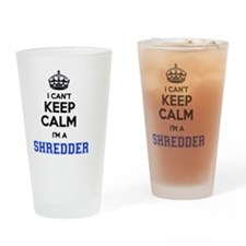 Funny Shredder Drinking Glass