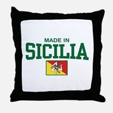 Made In Sicilia Throw Pillow