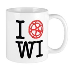 I Bike WI Mug