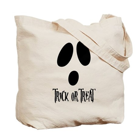 Ghost Face Trick or Treat Bag