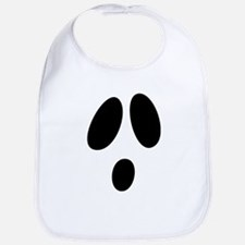 Ghost Face Bib