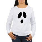 Ghost Face Women's Long Sleeve T-Shirt