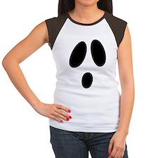 Ghost Face Women's Cap Sleeve T-Shirt