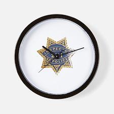 Inspector San Francisco Police Wall Clock