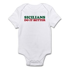 Sicilians Do It Better Infant Bodysuit