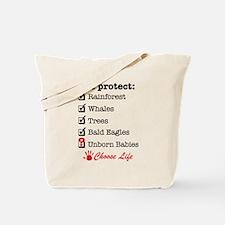 We Protect Tote Bag