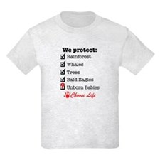 We Protect T-Shirt