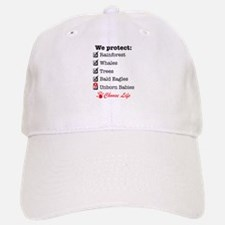 We Protect Baseball Baseball Cap