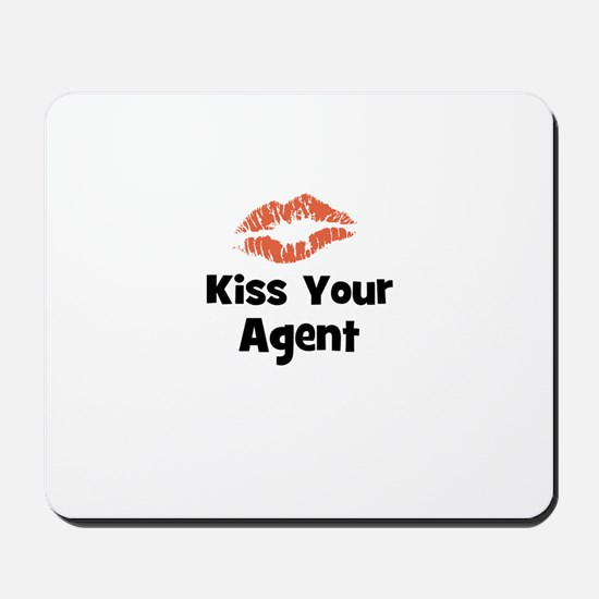 Kiss Your Agent Mousepad