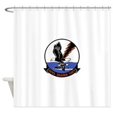2-vp30.png Shower Curtain