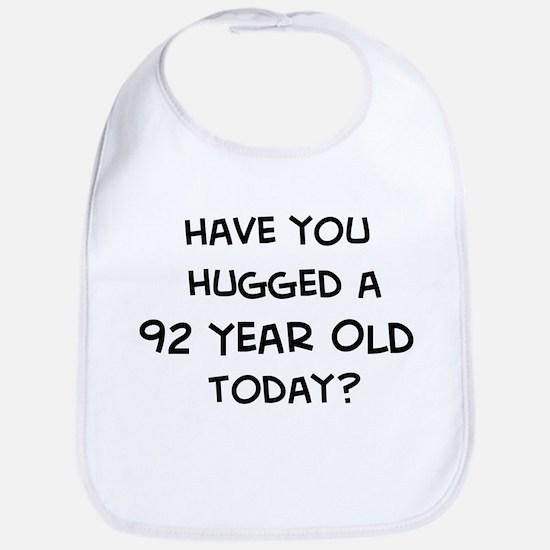 Hugged a 92 Year Old Bib