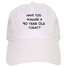 Hugged a 90 Year Old Baseball Cap