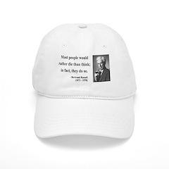 Bertrand Russell 15 Baseball Cap