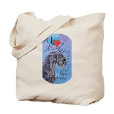 Kerry Blue Tote Bag