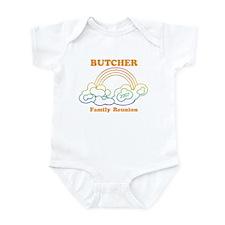 BUTCHER reunion (rainbow) Infant Bodysuit