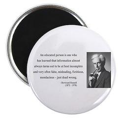 Bertrand Russell 16 Magnet