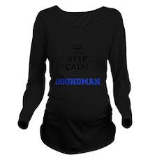 Cute Soundman Long Sleeve Maternity T-Shirt