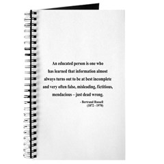 Bertrand Russell 16 Journal