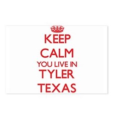 Keep calm you live in Tyl Postcards (Package of 8)