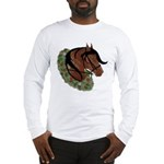 Paso Head With Wreath Long Sleeve T-Shirt