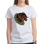 Paso Head With Wreath Xmas Women's T-Shirt