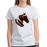 Mountain Horse Head With Wreath Women's T-Shirt