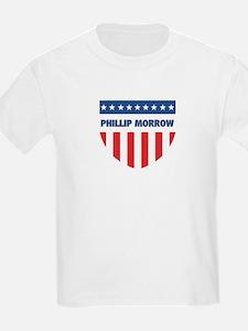PHILLIP MORROW 08 (emblem) T-Shirt