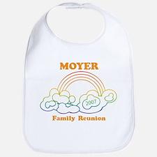 MOYER reunion (rainbow) Bib