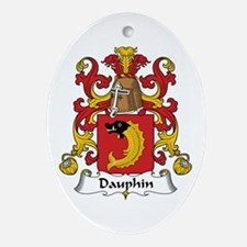 Dauphin Oval Ornament