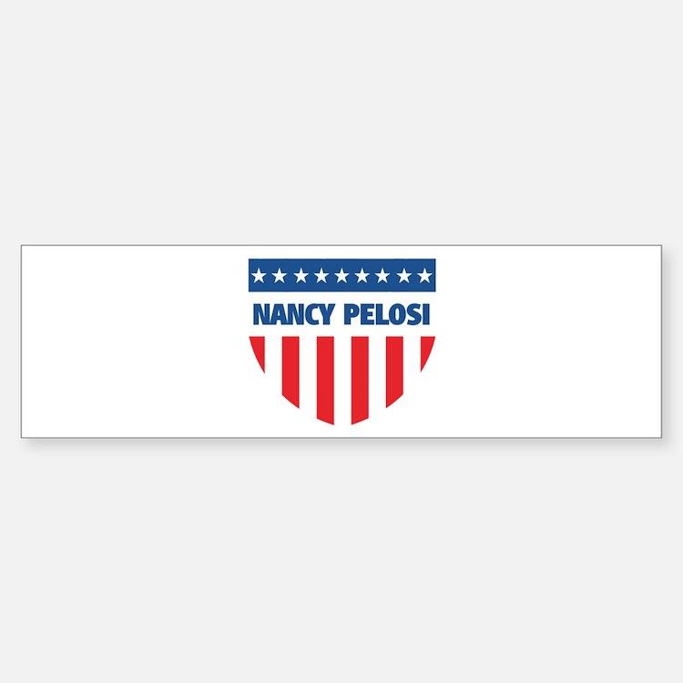 NANCY PELOSI 08 (emblem) Bumper Bumper Bumper Sticker
