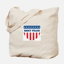 NANCY PELOSI 08 (emblem) Tote Bag