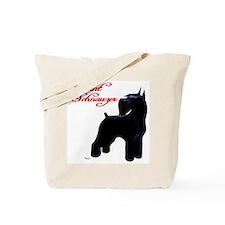 Cute Giant schnauzer Tote Bag