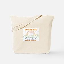 BURNETTE reunion (rainbow) Tote Bag
